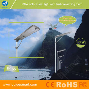 80W Solar Panel LED Lamps Integrated Solar LED Street Light pictures & photos