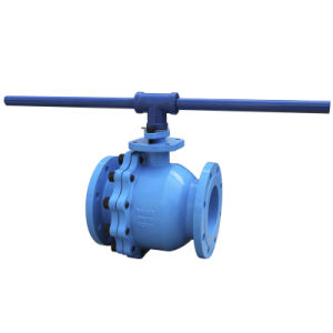 Cast Iron Ball Valve with Wrench pictures & photos