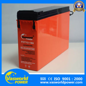 Solar Power system Front Terminal 12V 180ah Rechargeable Lead Acid Battery pictures & photos
