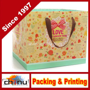 Art Paper / White Paper 4 Color Printed Bag (2271) pictures & photos