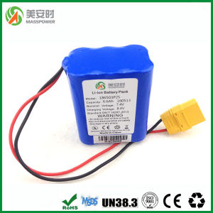 Safe and Power 6600mAh 7.4V Rechargeable Battery