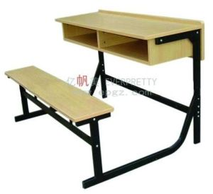 Primary School Child Study Table and Chair Sf-51d pictures & photos