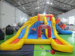 Inflatable Slide for Pool, Water Slides for Sale, Kids Slides, High Quality Popular Funny New Design Inflatable Slide Pool pictures & photos