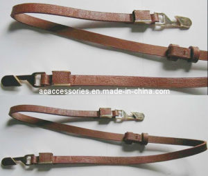 Brown Adjustable Slim Fashion Lady Metal Belt
