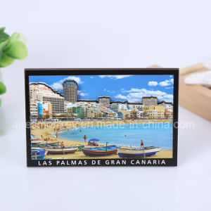Rectangle 3D Wooden Fridge Magnet pictures & photos