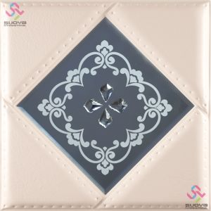 3D PU Leather Wall Panel 1106-4 for Modern Interior Decoration pictures & photos