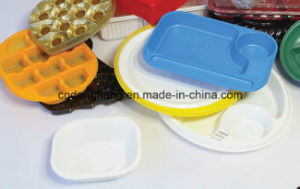 High Speed Plastic Food Tray Vacuum Forming Machine pictures & photos