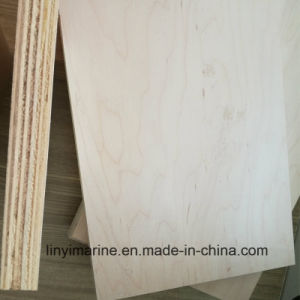 Natural Wood Maple Plywood Poplar Core BB/CC Furniture pictures & photos