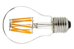 LED Light Bulb High Lumen Filament Bulb CE RoHS 2W 4W 6W 8W A60 E27