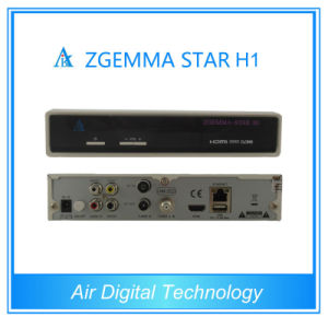 Zgemma DVB-C IPTV Streaming Server Zgemma Star Satellite Receiver Support IPTV Zgemma Star H1 IPTV Box pictures & photos