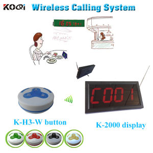 Hot Sell Top Popular Wireless Call Customer Receiver Paging System pictures & photos