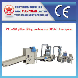 High Efficiency Pillow Filling Complete Set of Production Line pictures & photos
