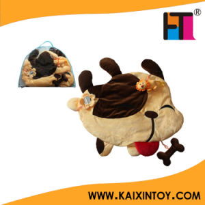 Funny Animal Shape Fabric Baby Blanket with Applique pictures & photos