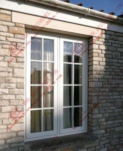 High-End PVC Casement Flush Window (BHP-CW013) pictures & photos