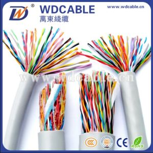 Indoor UTP Cat5 50pairs 0.5mm Multi Pairs Telephone Cables