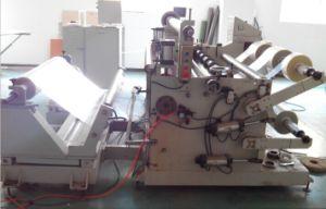 3′′ Air Shafts 6′′ Sleeve Auto Loading Unwinder Slitting Rewinder Machine pictures & photos