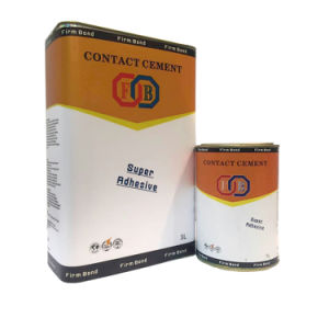 18L Per Tin Metallic Materials Neoprene Contact Cement pictures & photos