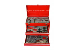 76PCS Coating Steel 3 Drawer Complete Tool Set (FY1076A) pictures & photos