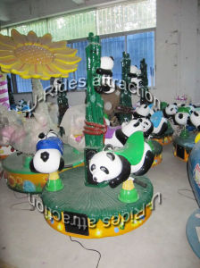 Panda Amusement Kiddy Carousel Game Luxurious Carousel Horse for sale pictures & photos