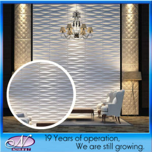 Waterproof PVC Wall Cladding Decorative 3D Panel for Building Material pictures & photos