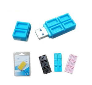Chocolate USB 2.0 Card Reader (FCR-T14) pictures & photos