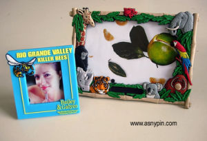 Promotional Soft PVC Picture Frame (ASNY-picture frame-IX-004) pictures & photos