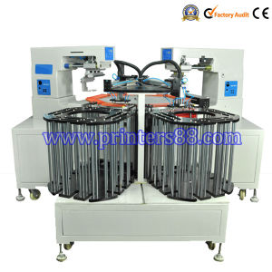 Automatic 2 Color Pad Printing Machine for Plastic Scale pictures & photos