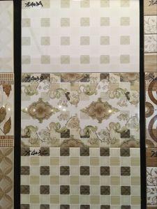 Indoor Flower Decorative Purple ABC Design Ceramic Wall Tile pictures & photos