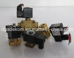 2 Way Pilot Solenoid Valves Screw Air Compressor Spare Parts pictures & photos
