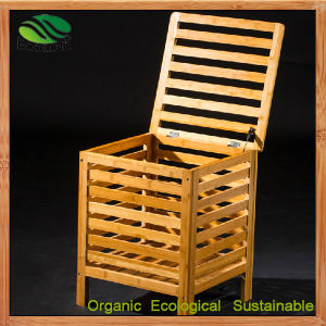 Bamboo Toy Box Lockers Bamboo Benches Laundry Bin (EB-B4098) pictures & photos