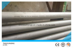 ASTM A312 316ti Seamless Stainless Steel Pipes for Bolier pictures & photos