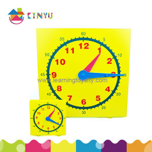 Plastic Classroom Clock for Demonstration in Class pictures & photos