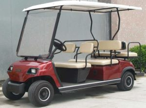 Wholesale 4 Wheels Electric Golf Cart 6 Seaters pictures & photos