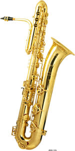 Professional Bass Saxophone (BS-120L) pictures & photos