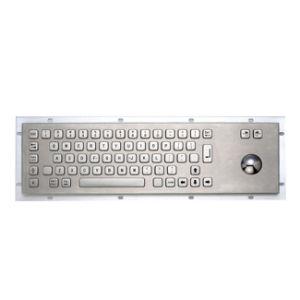 Kiosk Stainless Steel Keyboard (KVS-8202B)