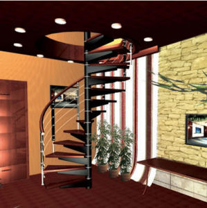 New Design of Spiral Staircase pictures & photos