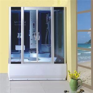 Bathroom Design Corner Frame Sliding Grey Glass Shower Cabin 90