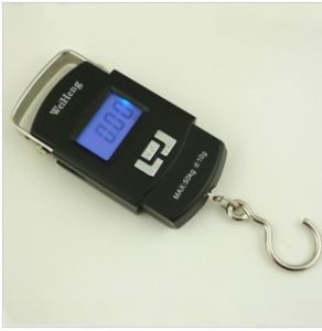 Weiheng Electronic Pocket Luggage Scale With Backlight A08L 50kg/10g