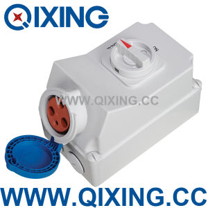IP44 Industrial Socket with Mechanical Interlock Switches (QX5696) pictures & photos