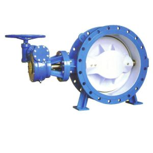 Resilient Seat Double Eccentric Flanged Butterfly Valve pictures & photos