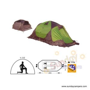 Camping Tent (SCC-710) 2-4 Person Tent pictures & photos