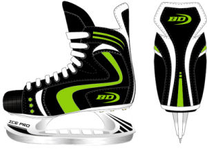 Ice Hockey Skate Green