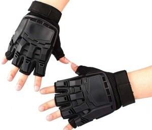 Tactical Outdoor Half Finger Gloves L Combat Transformers Fingerless Glove pictures & photos