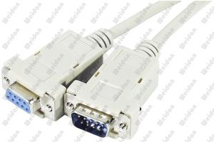 6ft M/F Serial Db 9pin Cable pictures & photos