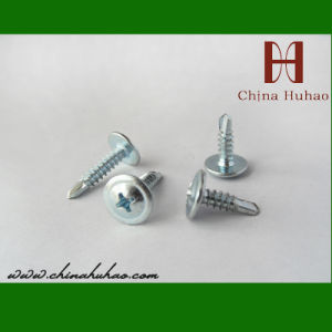 Screw/Wafer Head Tapping Screw /pH2 Tapping Screw (4.2x50mm) pictures & photos