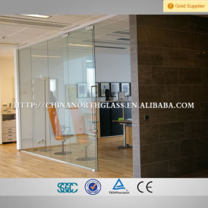 12mm Clear Tempered Glass Flat/Curved Tinted Glass Door pictures & photos