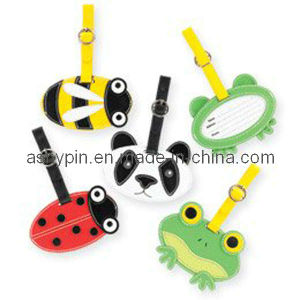 Animal Shape Plastic PVC Bag Tags Luggage Tags for Kids pictures & photos