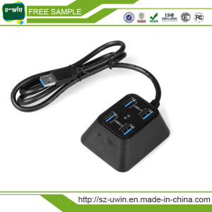 4-Port USB 3.0 Supper Speed Hub pictures & photos
