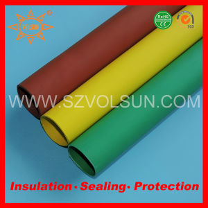 High Voltage Green Busbar Insulation Tubing pictures & photos