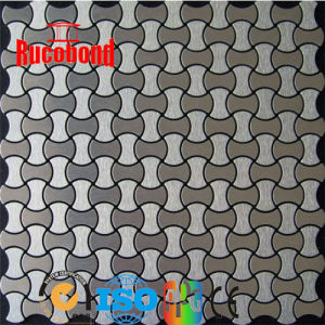 Cladding Wall-Special Color/New Style Self-Adhesive ACP Metal Mosaic Aluminum Composite Panel (RCB130710) pictures & photos